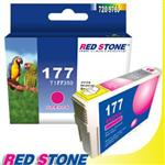 RED STONE for EPSON NO.177 T177350墨水匣^(紅色^)