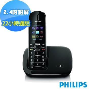 PHILIPS飛利浦DECT彩色螢幕數位電話 CD6801B/96