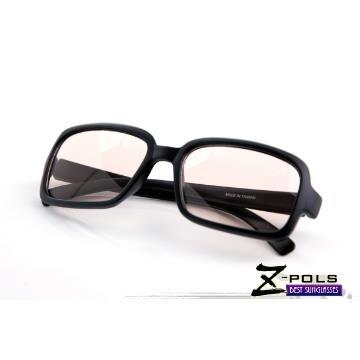 MIT視鼎Z-POLS 經典質感黑(百搭大框)專業設計PC材質抗藍光眼鏡