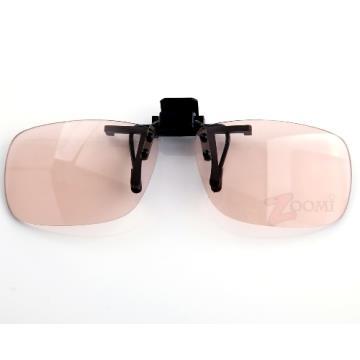 抗藍光+抗UV雙功能設計 新型夾式頂級PC材質 近視族必備專業眼鏡