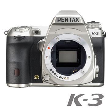 PENTAX K-3 Silver Edition銀色限定版【公司貨】