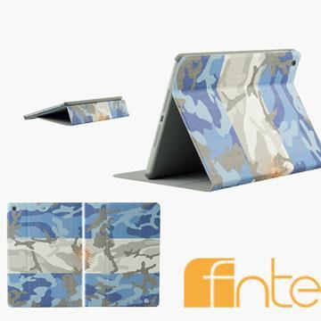 fnte FIFA世界盃迷彩國旗Apple iPad Air保護套-阿根廷