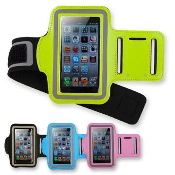 (買一送一)iPhone4 &5 專用 運動防潑水手機臂帶