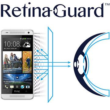 RetinaGuard 視網盾 HTC One mini  防藍光保護膜
