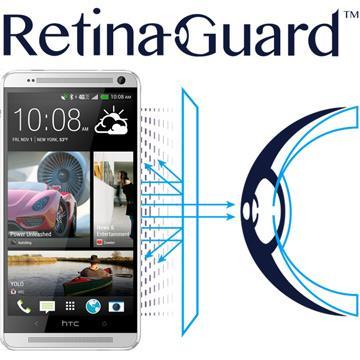RetinaGuard 視網盾 HTC One max  防藍光保護膜