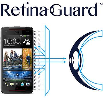 RetinaGuard 視網盾 HTC Butterfly S  防藍光保護膜