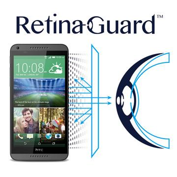 RetinaGuard 視網盾 HTC Desire 816  防藍光保護膜