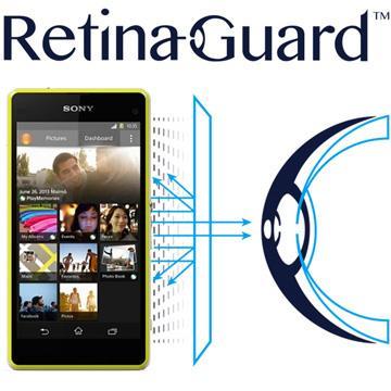 RetinaGuard 視網盾 Sony Xperia Z1 Compact  防藍光保護膜