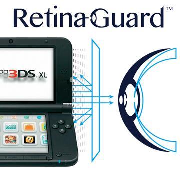 RetinaGuard 視網盾 任天堂 3DS XL 眼睛防護 防藍光保護膜