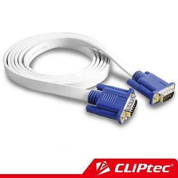 CLiPtec S VGA螢幕高畫質影像傳輸線 公對公 (1.8M)