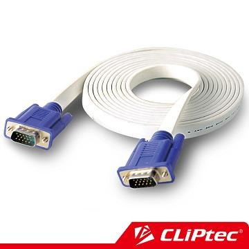 CLiPtec S VGA螢幕高畫質影像傳輸線 公對公 (3M)