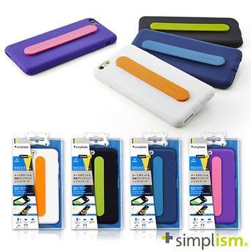 Simplism iPhone 6 Plus 手持帶矽膠保護套組