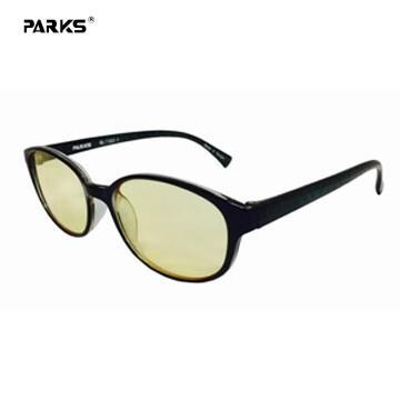 PARKS濾藍光眼鏡多元淑女黑70%