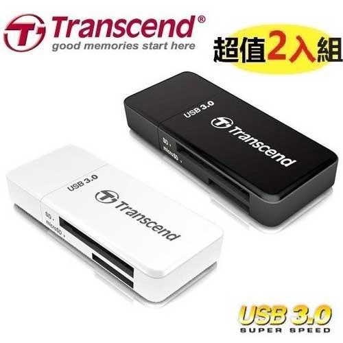 【2入組】Transcend 創見 F5 USB3.0 讀卡機