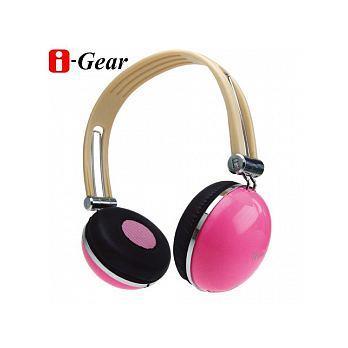 i-Gear 司諾克耳機 (粉紅) (IHP-300PK)