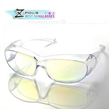 抗藍光!可包覆式近視眼鏡【視鼎Z-POLS】 專業電鍍頂級抗藍光+UV400+ PC強化材質