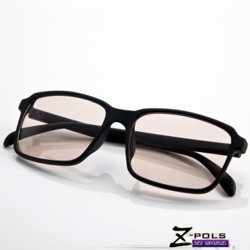 視鼎Z-POLS 獨特個性設計霧面黑 專業抗藍光眼鏡