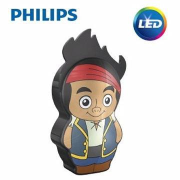 【飛利浦 PHILIPS】迪士尼魔法燈- LED手電筒-傑克與夢幻島海盜 (71767/05)