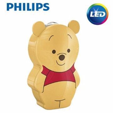 【飛利浦 PHILIPS】迪士尼魔法燈- LED手電筒-小熊維尼 (71767/34)