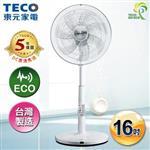 TECO東元 iFans 16吋DC微電腦ECO智慧溫控立扇電扇 XA1683BRD