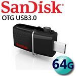 公司貨 SanDisk 64GB 150MB/s Ultra Dual OTG USB3.0 隨身碟
