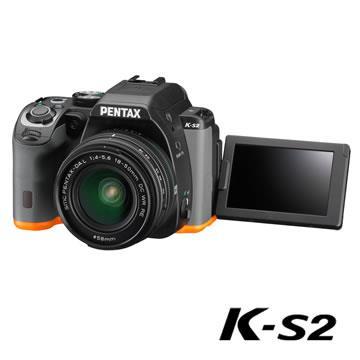 PENTAX K-S2+DAL18-50mm WR RE翻轉防滴單鏡組(公司貨)