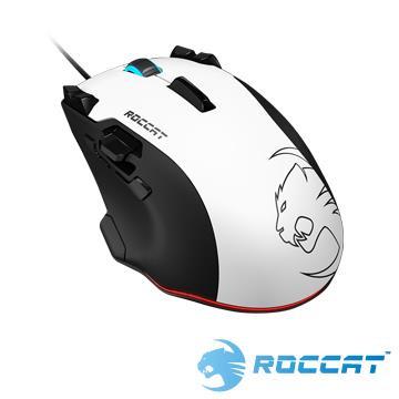 ROCCAT Tyon 雷射電競滑鼠-白
