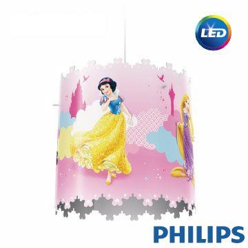 【飛利浦PHILIPS】迪士尼單頭吊燈-迪士尼公主 71751