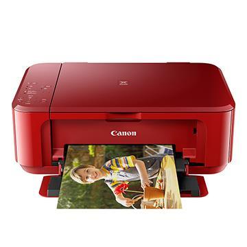 Canon PIXMA MG3670 多功能相片複合機 [睛豔紅]