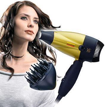 【沙宣】1300w 陶瓷摺疊吹風機 附烘罩 (VS157RDRW)