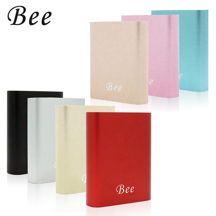 【Bee】簡約風★10400series 金屬質感行動電源-銀色(七色)