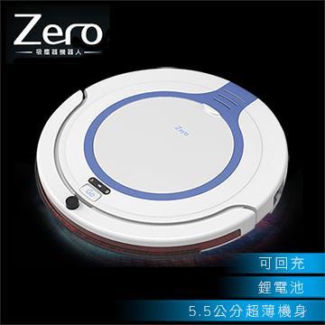 Zero 光導引智慧偵測超薄型吸塵器機器人