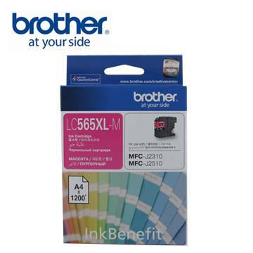Brother LC565XL-M 原廠高容量紅色墨水匣