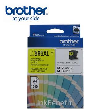 Brother LC565XL-Y 原廠高容量黃色墨水匣