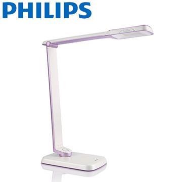 【飛利浦 PHILIPS】大視界 SPADE PLUS 晶彥 LED檯燈 (71663) 紫色