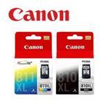 CANON PG-810XL & CL-811XL 原廠高容量墨水匣組合(1黑1彩)