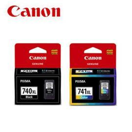 CANON PG-740XL + CL-741XL 原廠墨水匣組合(1黑1彩)
