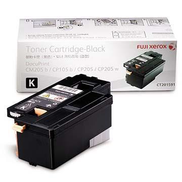 FUJI XEROX CT201591 原廠黑色碳粉匣