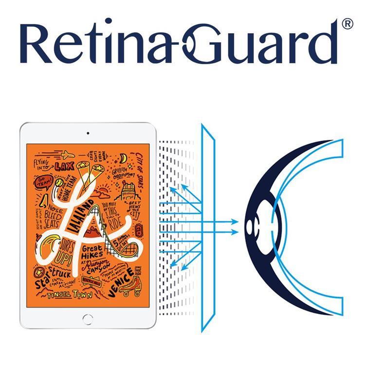 RetinaGuard 視網盾 iPad mini 2019/iPad mini4  防藍光保護貼 透明