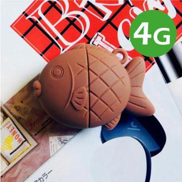 Kalo 卡樂創意-鯛魚燒隨身碟-巧克力香蕉(4G)