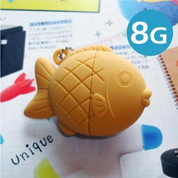 Kalo 卡樂創意-鯛魚燒隨身碟-紅豆口味(8G)