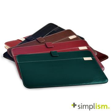 Simplism MacBook 12吋 皮革收納袋
