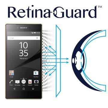 RetinaGuard 視網盾 Sony Xperia Z5 Premium  防藍光保護膜