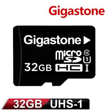 Gigastone立達國際 32GB MicroSDHC UHS-I 高速記憶卡(附轉卡)