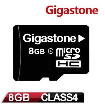 Gigastone 立達國際 MicroSDHC 8GB Class4 (附轉卡)