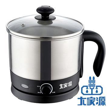 大家源TCY-2741  304不鏽鋼美食鍋 1.2L