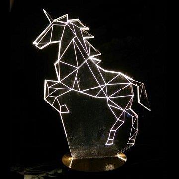 LED 立體造型夜燈-獨角獸
