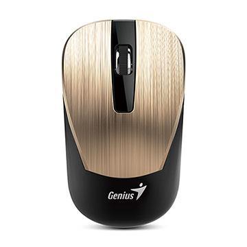 Genius 昆盈 NX-7015 藍光無線滑鼠(金色)