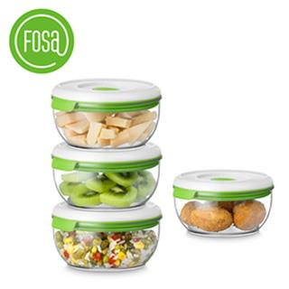 【FOSA真鮮寶】真空保鮮盒600ml-4入(HFA40600)