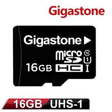 Gigastone立達國際 16GB MicroSDHC UHS-I 高速記憶卡(附轉卡)